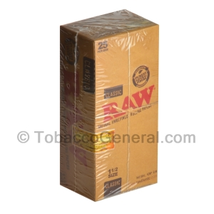 RAW Papers 1 1/4 Pack of 24