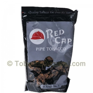 Red Cap No 7 Pipe Tobacco 16 oz. Pack