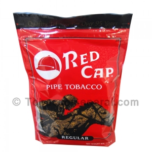 Red Cap Regular Pipe Tobacco 6 oz. Pack