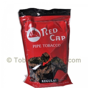 Red Cap Regular Pipe Tobacco 16 oz. Pack