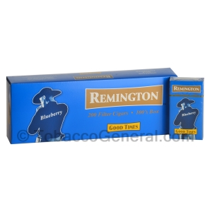 Remington Blueberry Filtered Cigars 10 Packs of 20