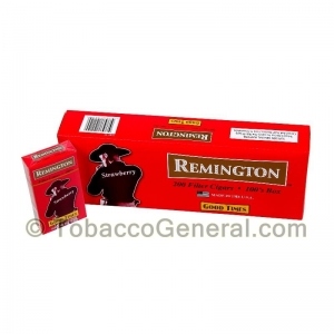 Remington Strawberry Filtered Cigars 10 Packs of 20