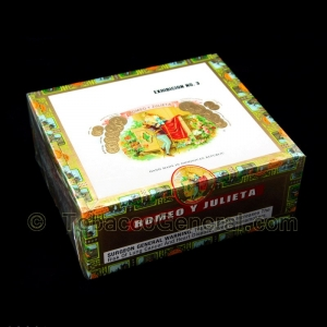 Romeo Y Julieta 1875 Exhibicion 3 Cigars Box of 25