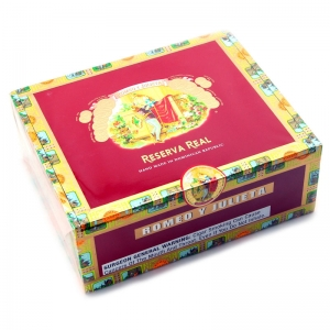 Romeo Y Julieta Reserva Real Lonsdales Cigars Box of 25