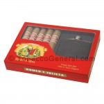 Romeo Y Julieta Reserva Real Toro Gift Ser Cigars with Flask Box of 5