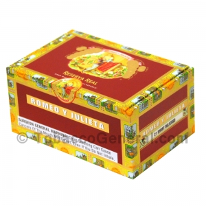 Romeo Y Julieta Reserva Real Short Belicoso Cigars Box of 21