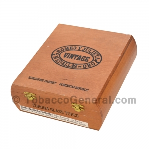 Romeo Y Julieta Vintage Corona Tubo Cigars Box of 12