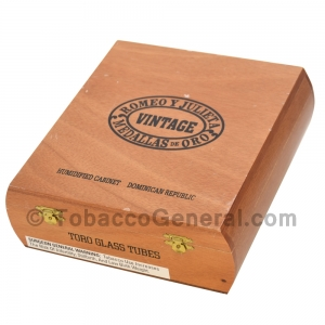 Romeo Y Julieta Vintage Toro Tubo Cigars Box of 12