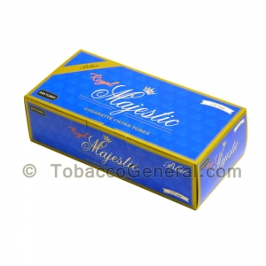 Royal Majestic Filter Tubes 100 mm Blue (Light) 5 Cartons of 200