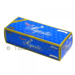 Royal Majestic Filter Tubes King Size Blue (Light) 5 Cartons of 200