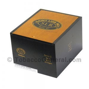 Saint Luis Rey SLR Serie G NO 6 Maduro Cigars Box of 25