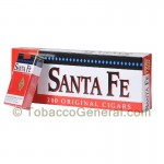 Santa Fe Filtered Cigars 10 Packs of 20 Regular - Filtered and
