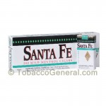 Santa Fe Filtered Cigars 10 Packs of 20 White Menthol