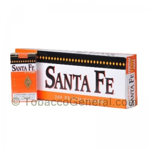Santa Fe Filtered Cigars 10 Packs of 20 Peach