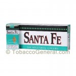 Santa Fe Filtered Cigars 10 Packs of 20 Menthol - Filtered and
