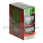 Show Cigarillos Ba Boom Pre Priced 15 Packs of 5 - Cigarillos
