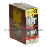 Show Cigarillos Sweet Pre Priced 15 Packs of 5 - Cigarillos