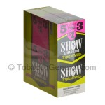 Show Cigarillos Tropical Twista Pre Priced 15 Packs of 5 - Cigarillos