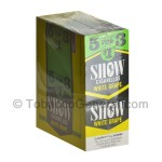 Show Cigarillos White Grape Pre Priced 15 Packs of 5 - Cigarillos