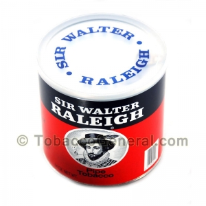 Sir Walter Releigh Pipe Tobacco 14 oz. Can