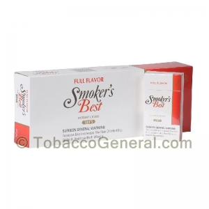 Smoker's Best Full Flavor Filtered Cigars 10 Packs of 20
