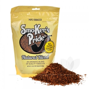Smoker's Pride Natural Blend Pipe Tobacco 12 oz. Pack
