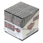Swisher Sweets Black Cigarillos B3G5 Pre-Priced 20 Packs of 5