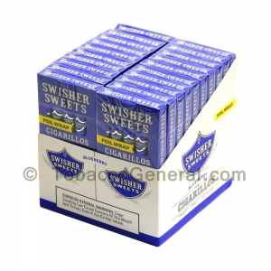 Swisher Sweets Blueberry Cigarillos 20 Packs of 5