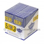 Swisher Sweets Blueberry Cigarillos B3G5 Pre-Priced 20 Packs of 5