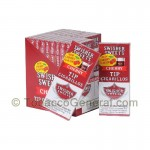 Swisher Sweets Cherry Tip Cigarillos 20 Packs of 5 - Cigarillos