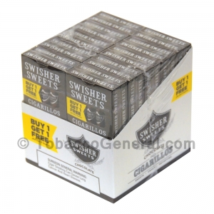Swisher Sweets Chocolate Cigarillos B1G1 Pre-Priced 20 Packs of 5