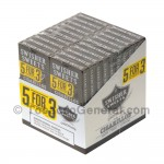Swisher Sweets Chocolate Cigarillos B3G5 Pre-Priced 20 Packs of 5