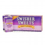 Swisher Sweets Grape Little Cigars 100mm 10 Packs of 20 - Filtered