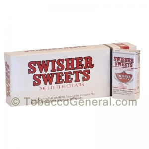 Swisher Sweets Mild Little Cigars 100mm 10 Packs of 20