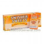 Swisher Sweets Peach Little Cigars 100mm 10 Packs of 20 - Filtered