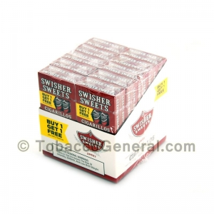 Swisher Sweets Regular Cigarillos B1G1 Pre-Priced 20 Packs of 5