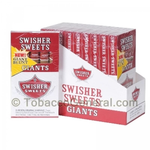 Swisher Sweets Regular Giants 10 Packs of 5