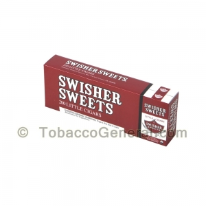 Swisher Sweets Regular Little Cigars 100mm 10 Packs of 20