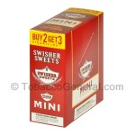Swisher Sweets Regular Mini Cigarillos 15 Packs of 3