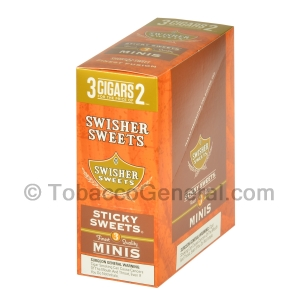 Swisher Sweets Sticky Sweets Mini Cigarillos 15 Packs of 3