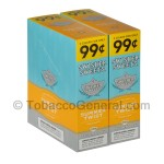 Swisher Sweets Summer Twist Cigarillos 99c Pre-Priced 30 Packs of 2
