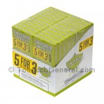 Swisher Sweets White Grape Cigarillos B3G5 Pre-Priced 20 Packs of