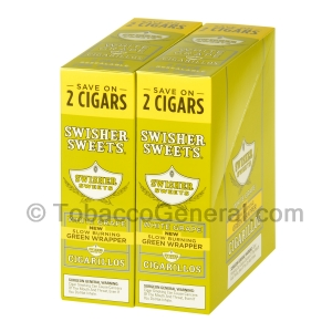 Swisher Sweets White Grape Cigarillos 30 Packs of 2