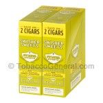 Swisher Sweets White Grape Cigarillos 30 Packs of 2 - Cigarillos