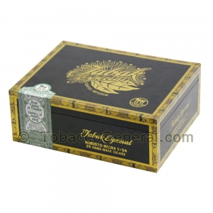Tabak Especial Robusto Negra Cigars Box of 24