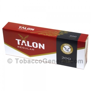 Talon Regular Filtered Cigars 10 Packs of 20