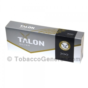 Talon Silver Original Filtered Cigars 10 Packs of 20