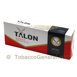 Talon Sweet Original Filtered Cigars 10 Packs of 20