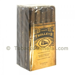 Tampa Trolleys Churchill Cigars Bundle of 20