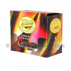 Tatiana Miniatures Night Cap Cigars 5 Packs of 10
